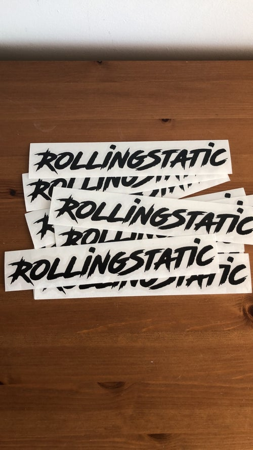 Image of RollingStatic Small Sticker v3