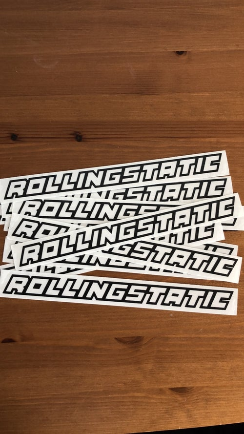 Image of RollingStatic Small Sticker v4