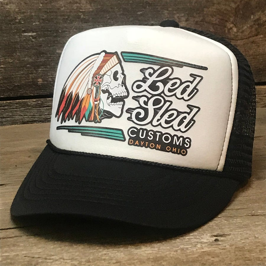 Image of Indian Head Trucker Hat