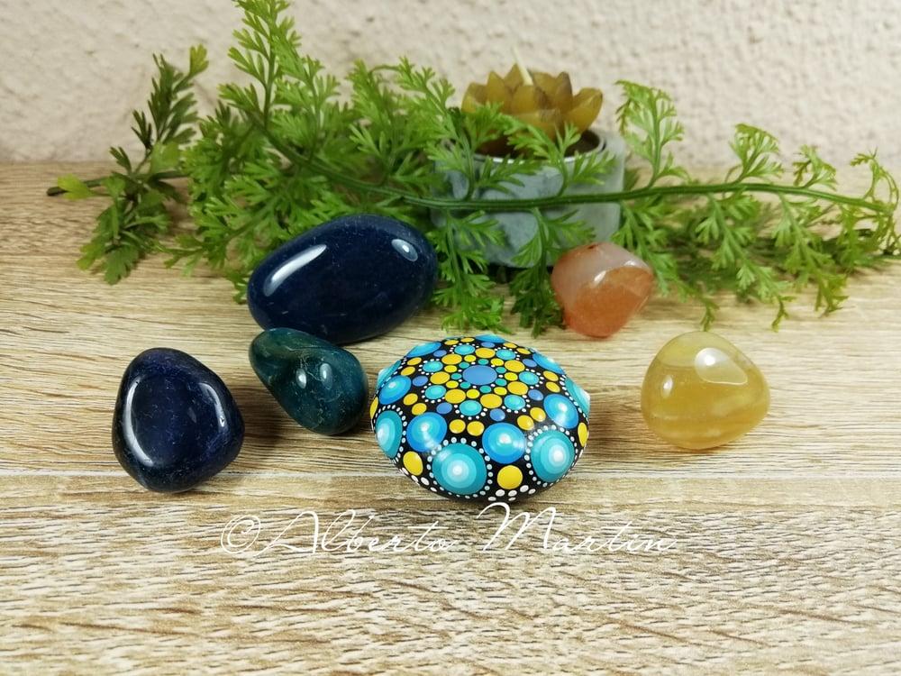 Image of Mini Mandala Stone 1  by Alberto Martin