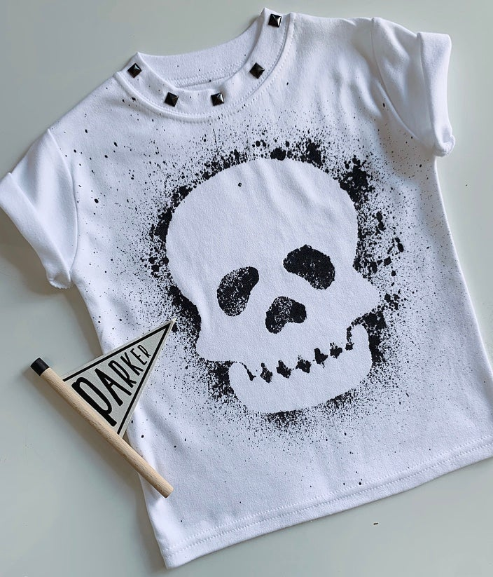 Image of Skull Studded Tee