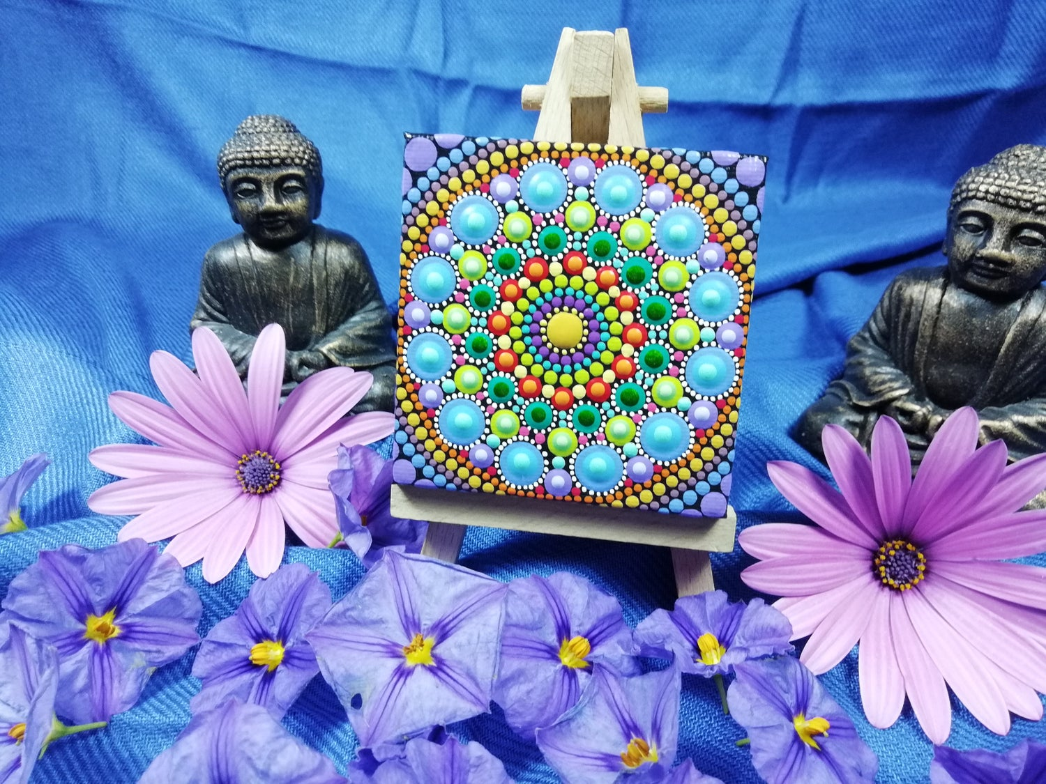 Image of Mandala Mini Canvas 3 by Alberto Martin