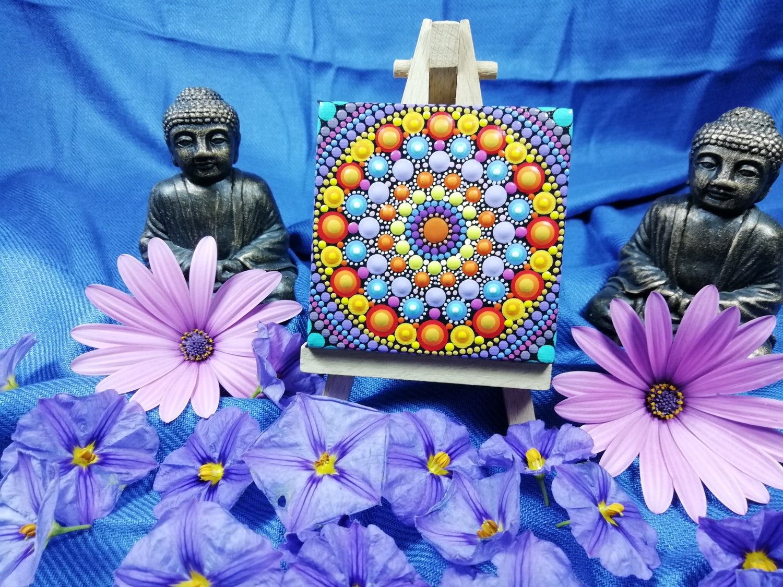 Image of Mandala Mini Canvas 4 by Alberto Martin