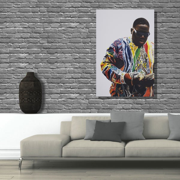 Image of IT WAS ALL A DREAM - 3x2ft canvas print