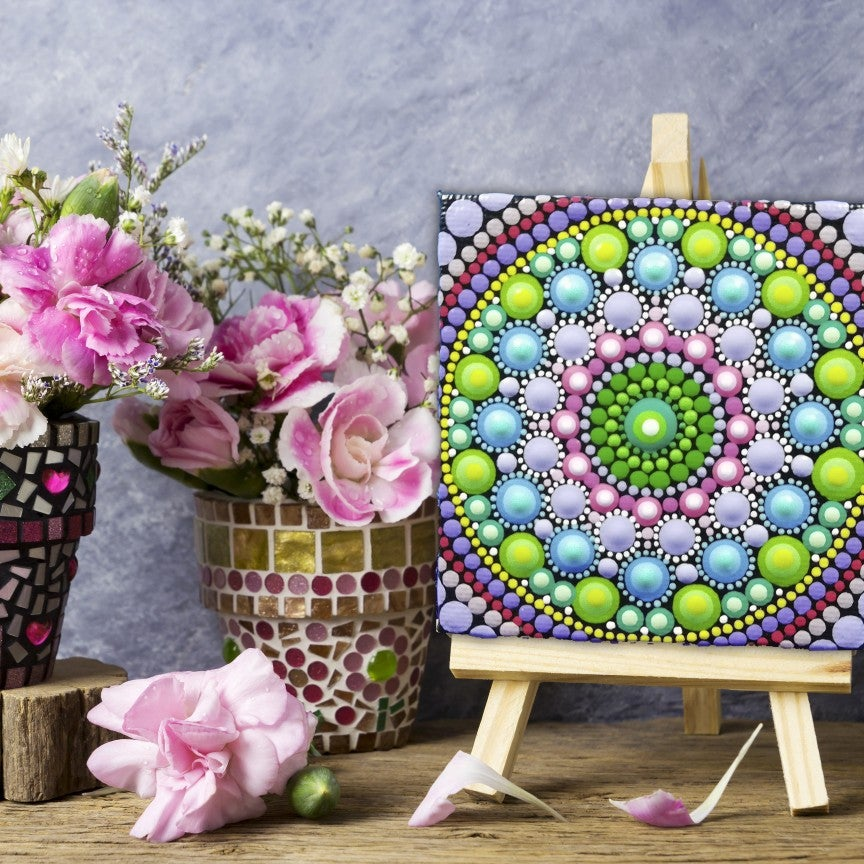 Image of Mandala Mini Canvas 2 by Alberto Martin
