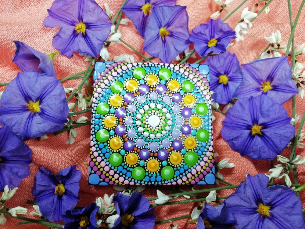 Image of Mandala Mini Canvas 5 by Alberto Martin