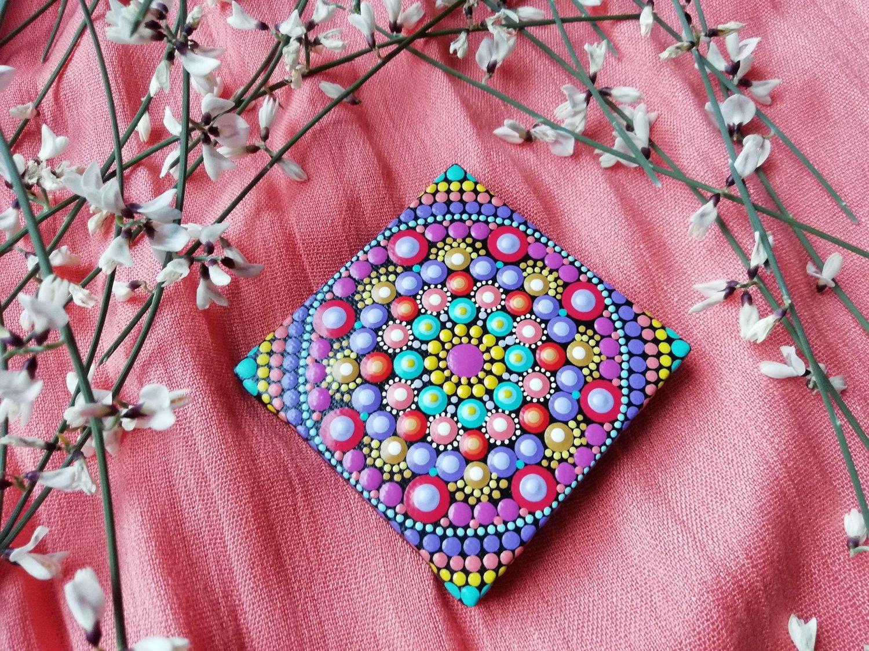 Image of Mandala Mini Canvas 7 by Alberto Martin