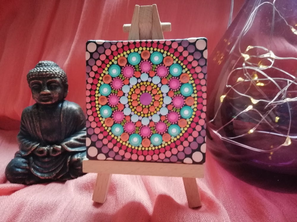 Image of Mandala Mini Canvas 8 by Alberto Martin