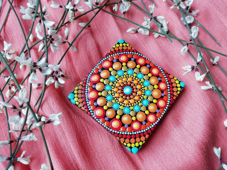 Image of Mandala Mini Canvas 9 by Alberto Martin