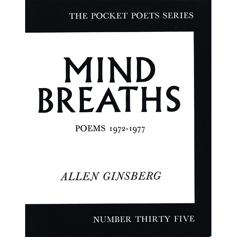 Image of Allen Ginsberg - Mind Breaths