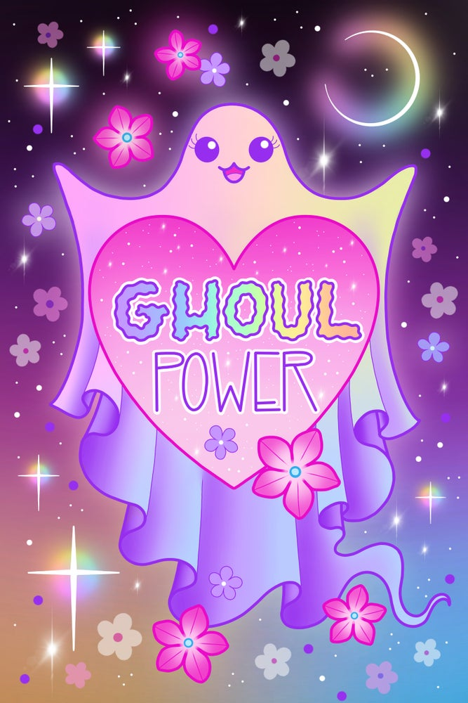 Image of 'Ghoul Power' Print