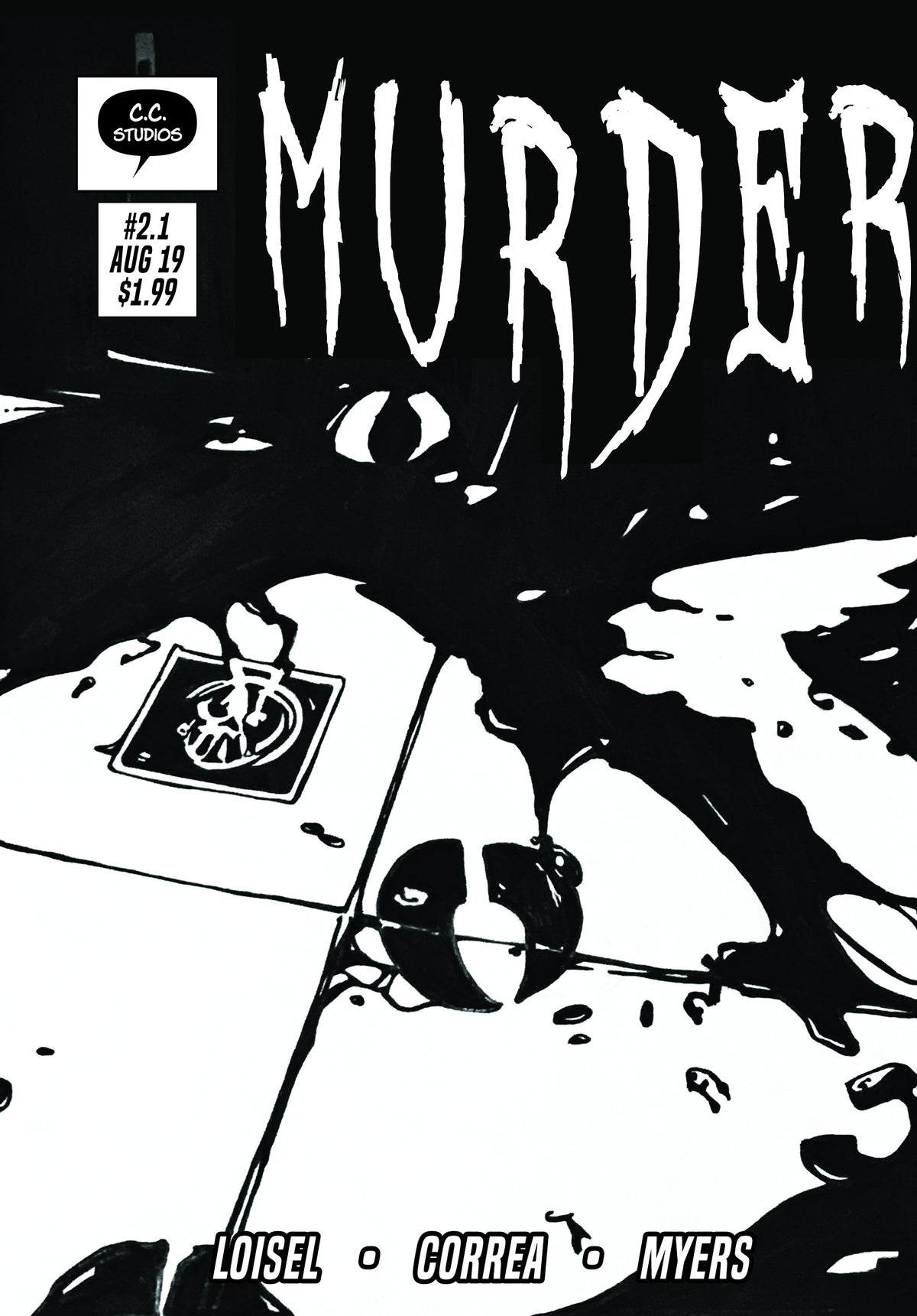 Image of Murder issue 2.1
