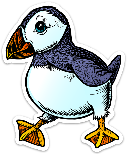Image of Puffin Sticker