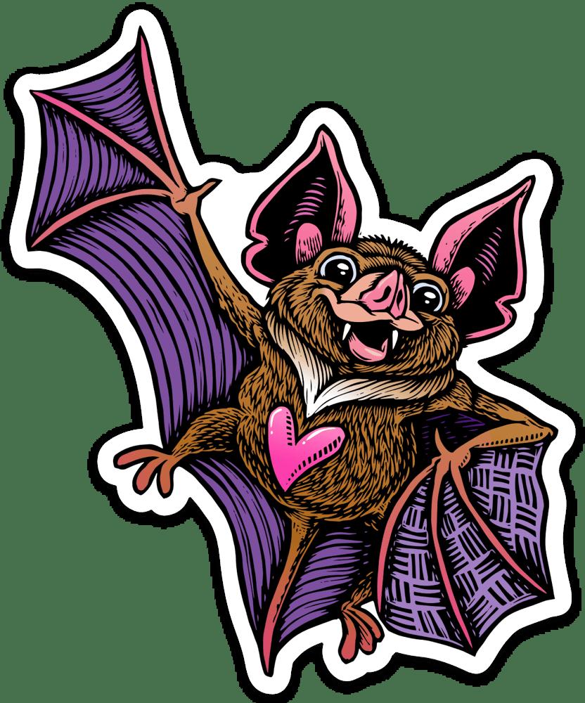 Image of Cute Bat Sticker
