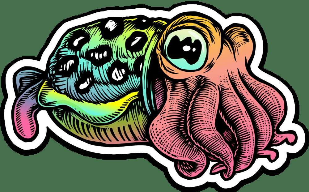 Image of Cuttlefish Sticker