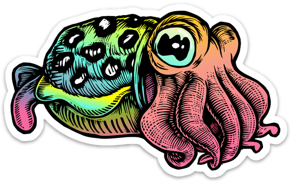 Image of Cuttlefish Sticker