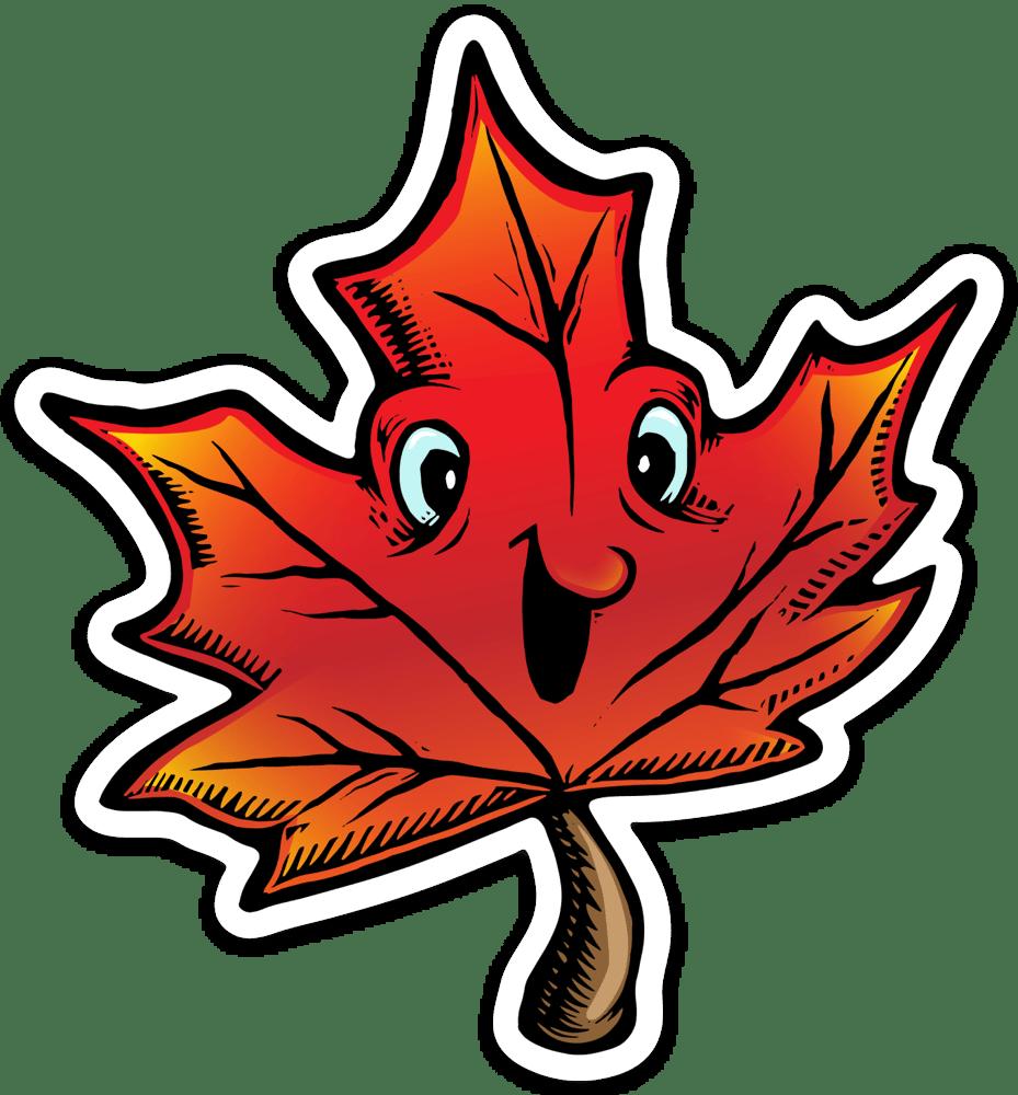 Image of Mapleleaf Sticker