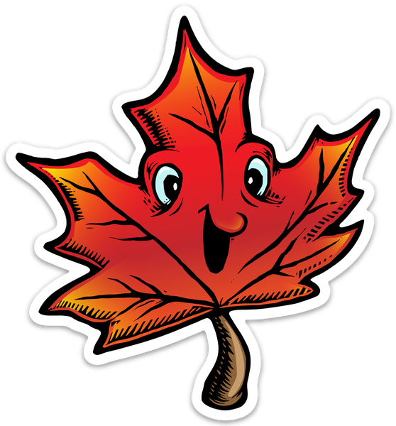Image of Mapleleaf Sticker