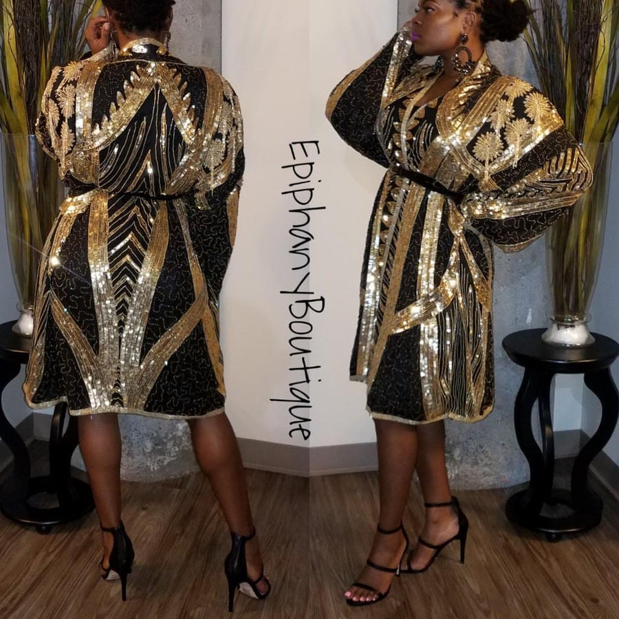 Image of The Dynasty Jacket/Dress-**Reg & Plus/Curvy**(Exclusive Collection)