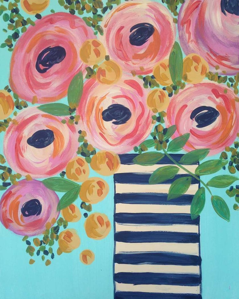 Image of Spring Bouquet Friday 11 OCT 7-9PM
