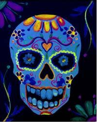 Image of Glow in the Dark Dia de los muertos Friday 11 OCT 7-9PM