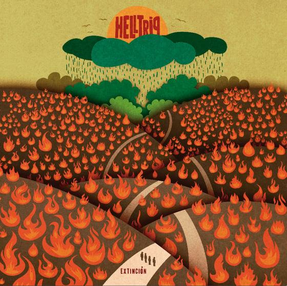 """Image of Helltrip-""""Extinción""""."""