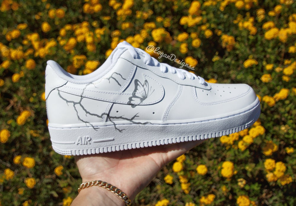 Image of *Reflective* LIGHTENING AIR FORCE 1's