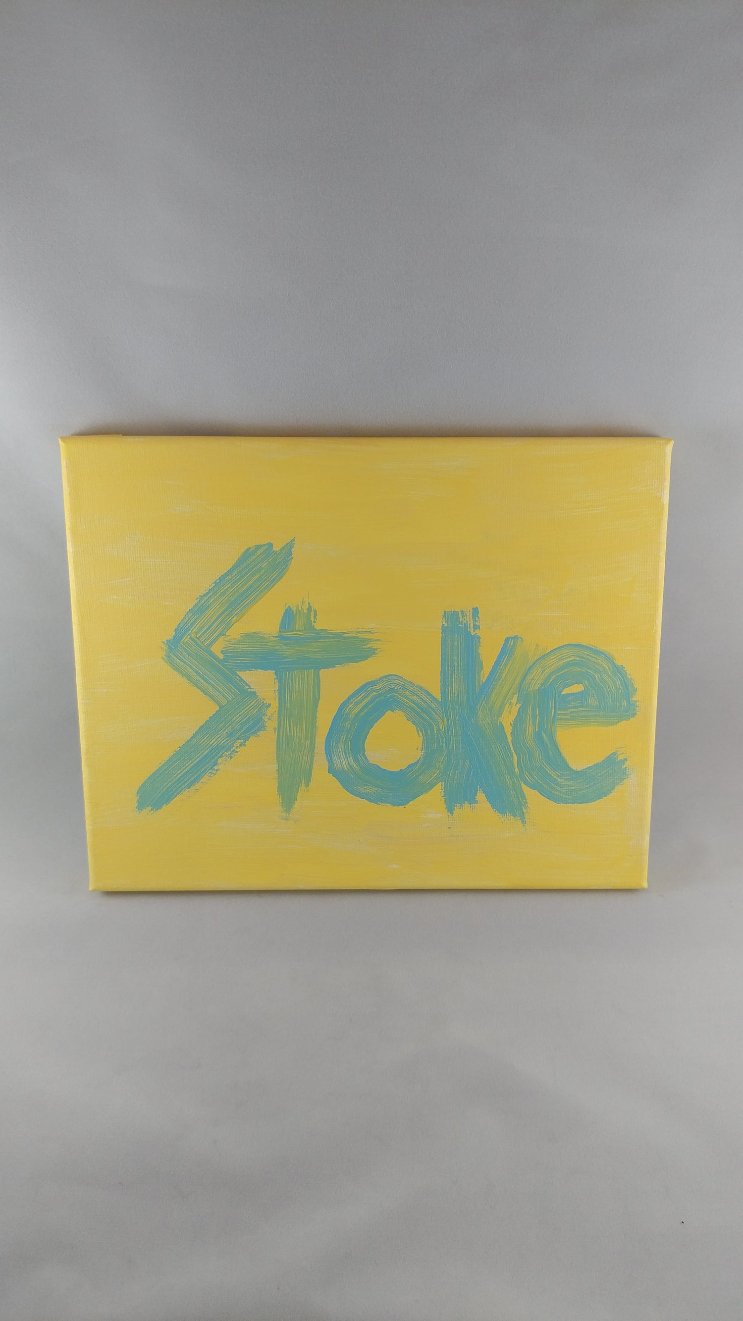 "Image of ""STOKE"" Paintings 8"" x 10"""