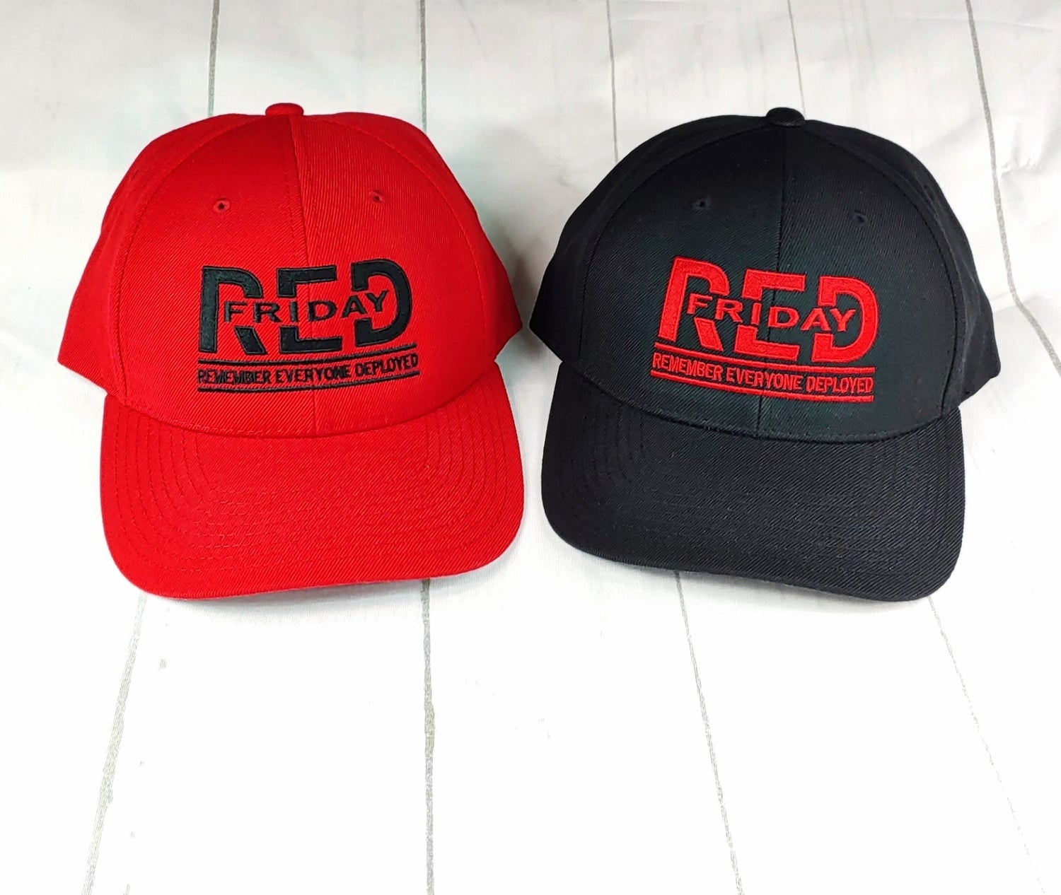 R.E.D. Embroidered Snapback