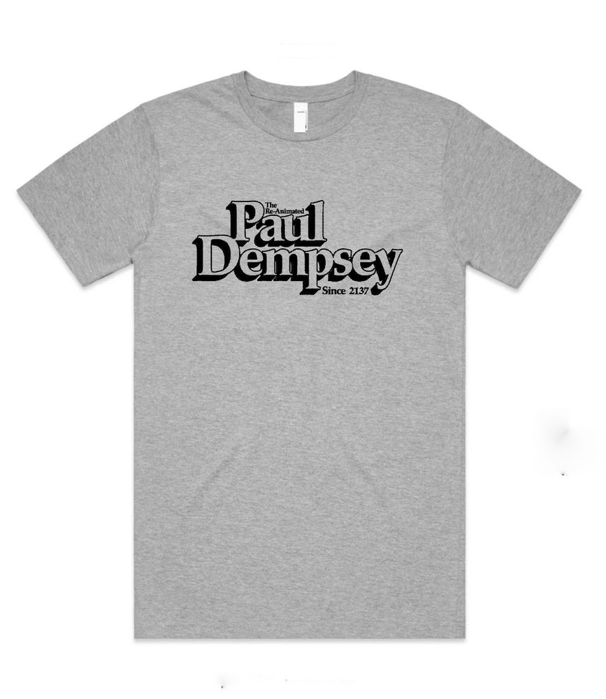 Image of Paul Dempsey Re-animated tee in black or marle grey