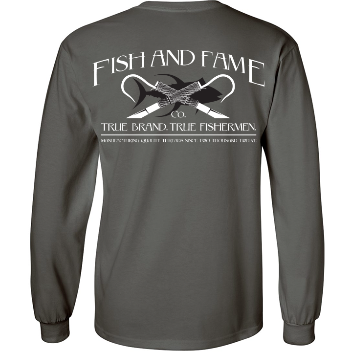 Image of Classic Long Sleeve (gun metal)