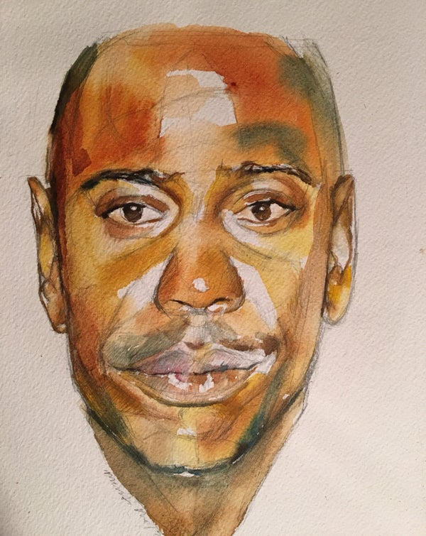 Image of Dave Chappelle- Print
