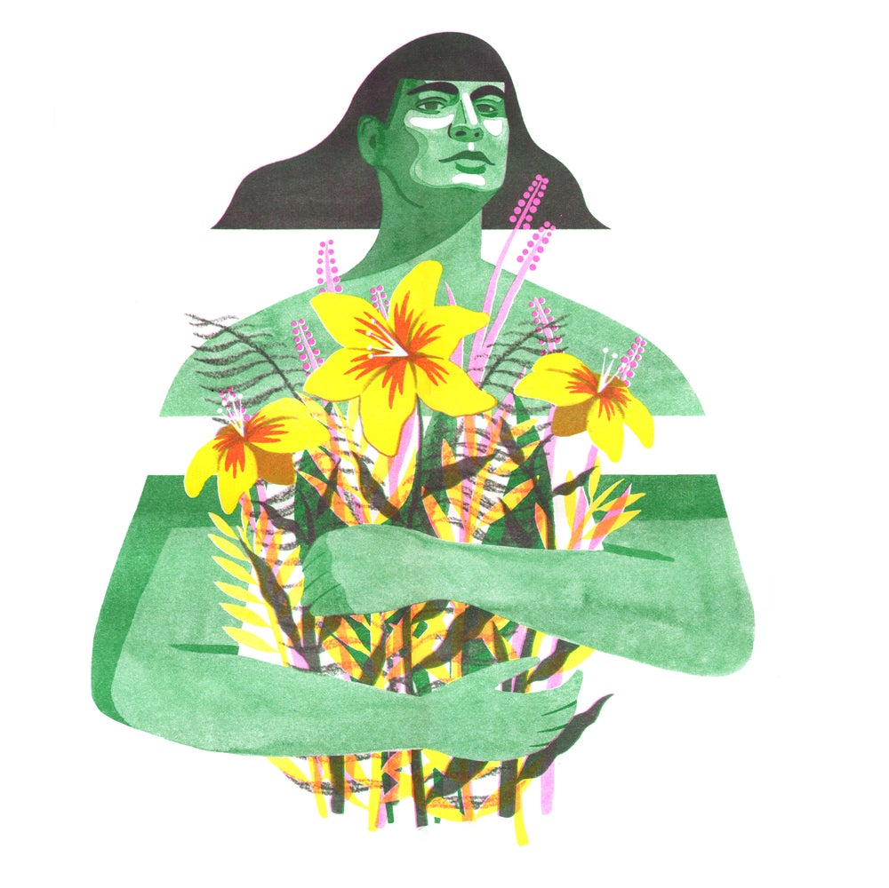 Image of 'ORLA' riso print