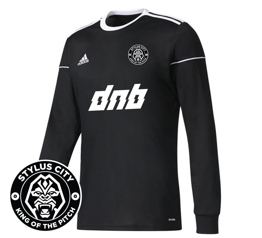Image of DNB x Adidas Football Shirt - Long Sleeve * OUT NOW *