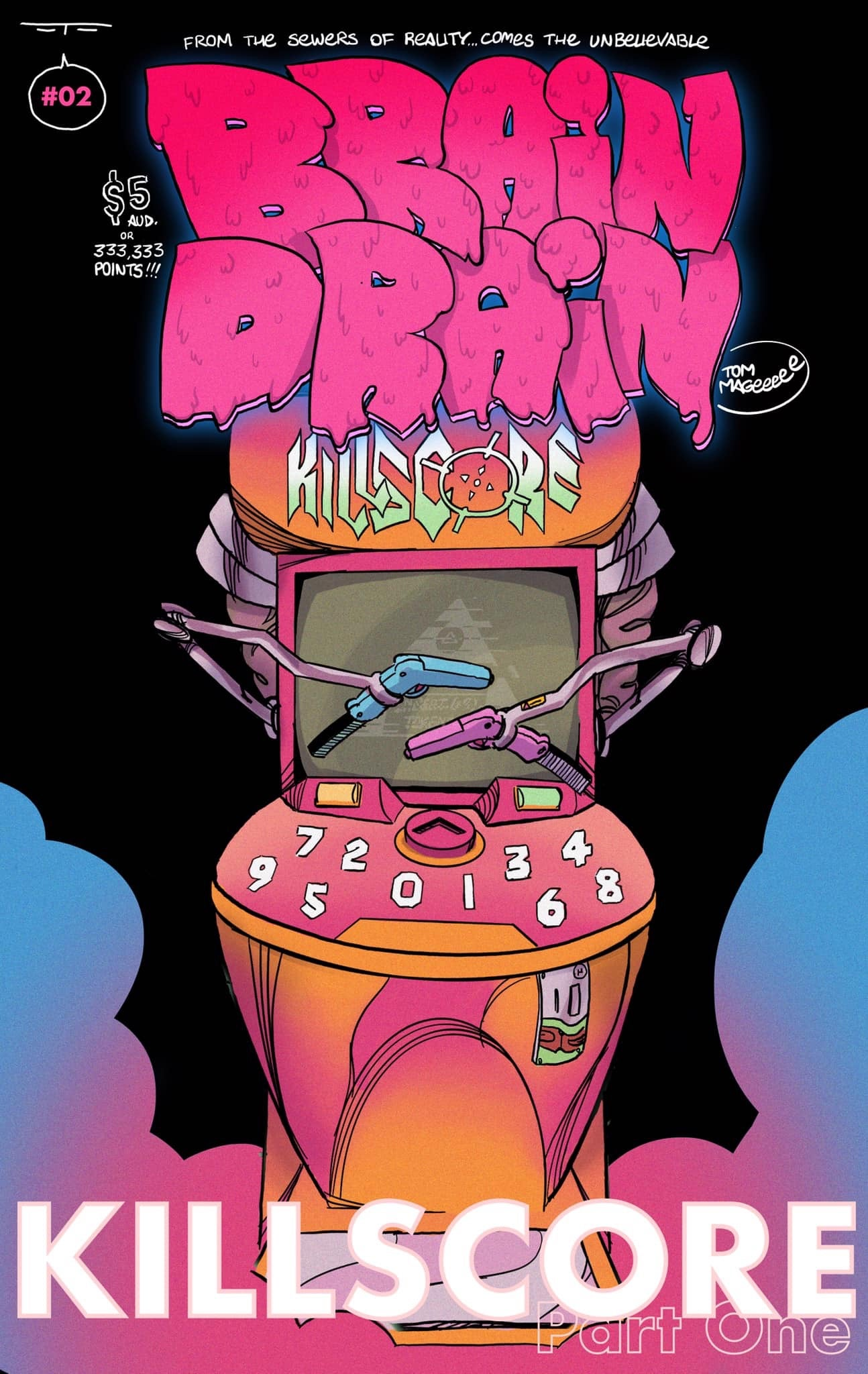 "Image of BRAIN DRAIN #2 ""Killscore"" Pt.1"