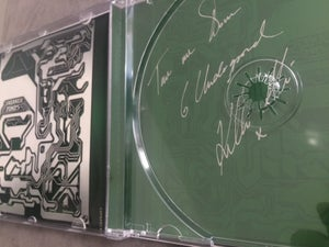 Image of ORIGINAL BECOMING X CD ALBUM SIGNED WITH LYRIC DETAIL IN CD TRAY VGC