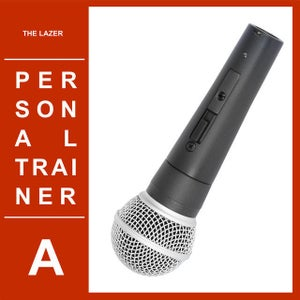 """Image of Personal Trainer - The Lazer / Stormtrooper of the Month 7"""" vinyl"""
