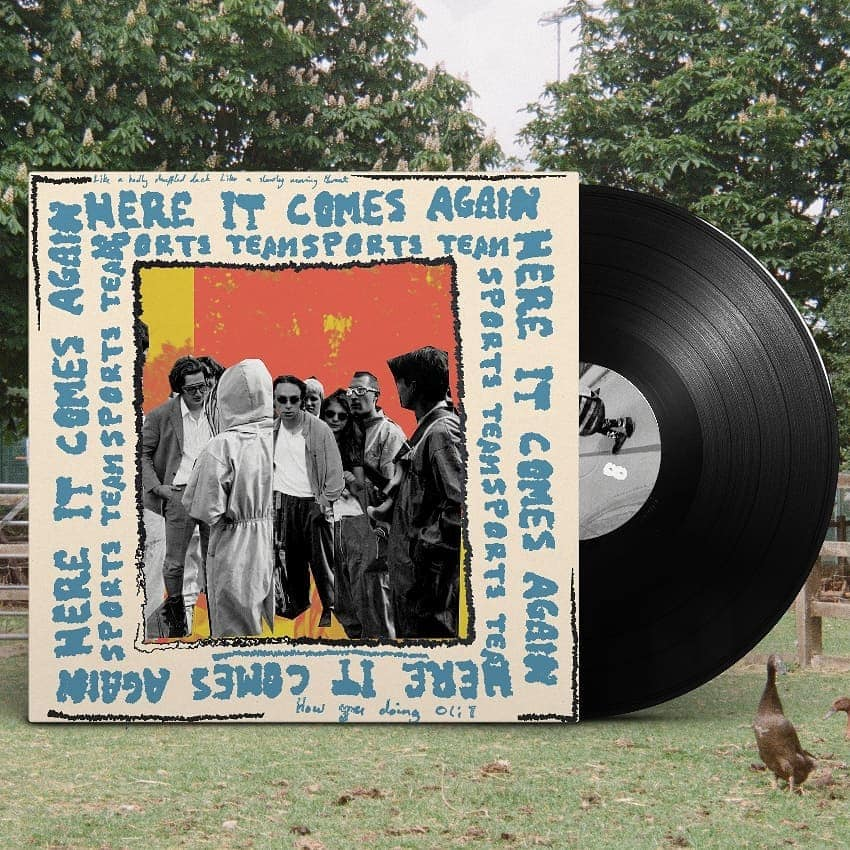 "Image of Sports Team - Here it Comes Again 7"" vinyl"