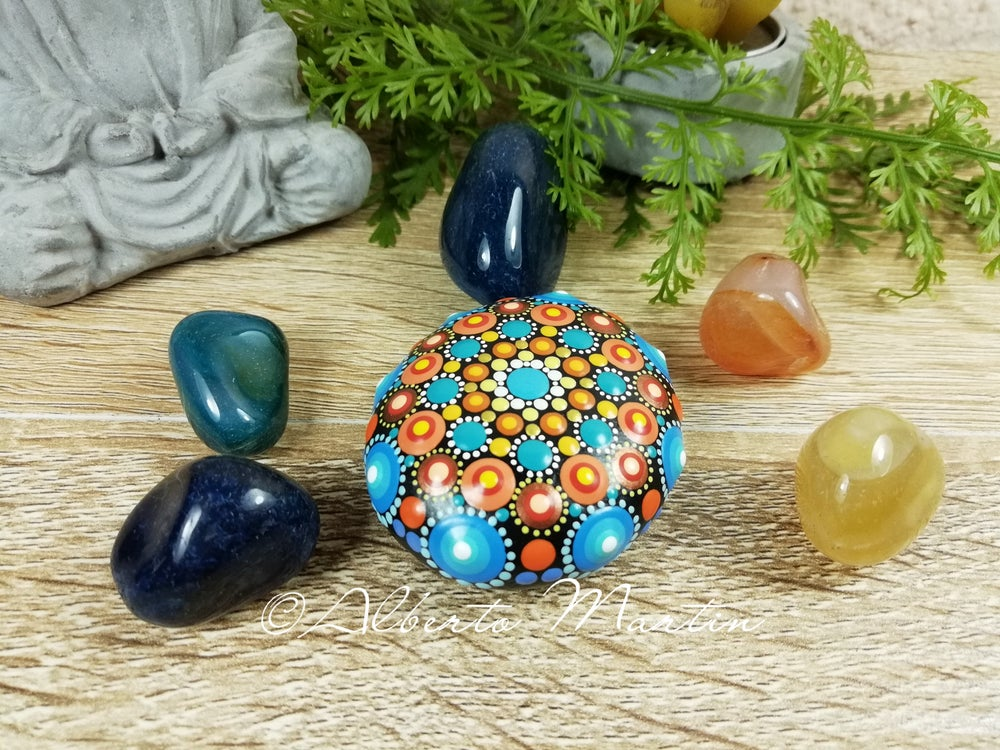 Image of Mandala Mini Stone 22 by Alberto Martin
