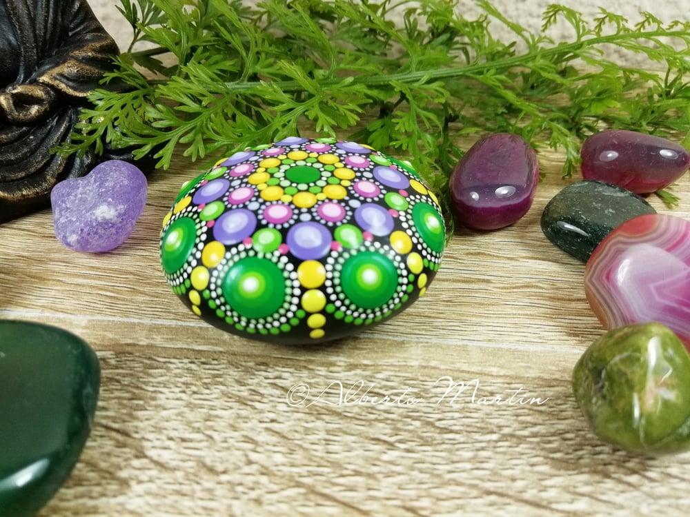 Image of Mandala Mini Stone 23 by Alberto Martin