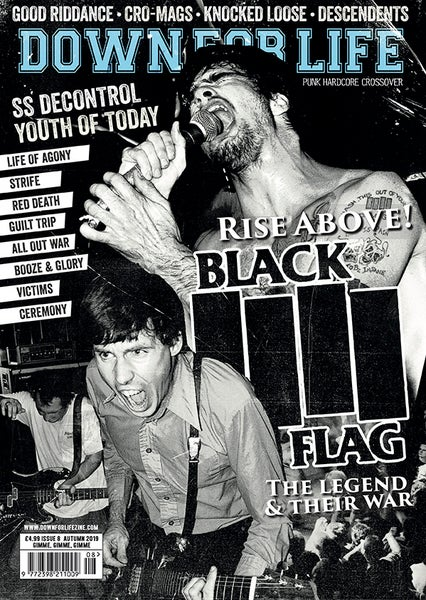 Image of DOWN FOR LIFE - ISSUE 8