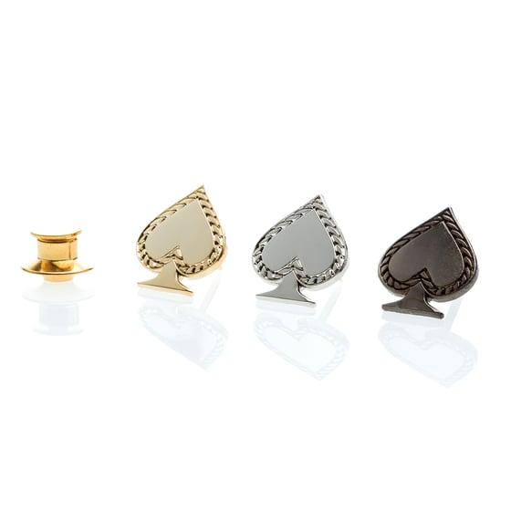 Image of PIN'S SPADES, CLUBS, DIAMONDS, ROUND