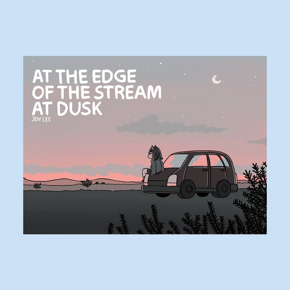 Image of At the Edge of the Stream at Dusk by Jen Lee