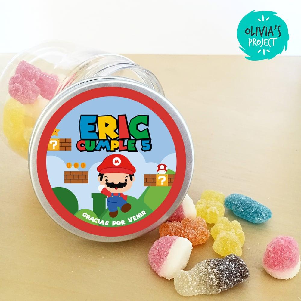 Image of Tarrito de chuches - Super Mario Bros