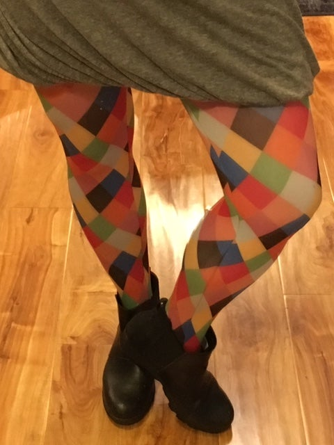 Image of Harlequin Tights