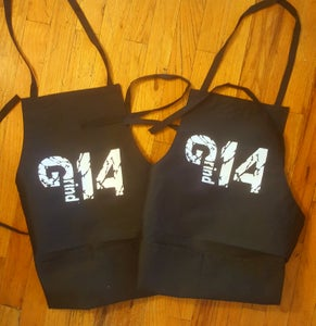Image of CUSTOMIZE YOUR OWN GRIND14 APRON / ADD YOUR NAME