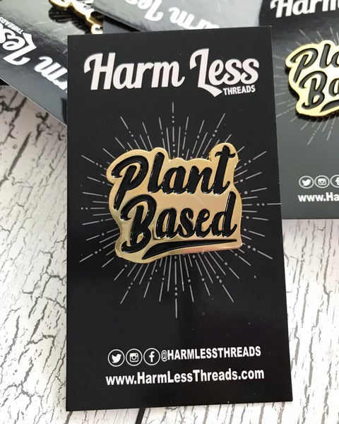 Image of Plant Based enamel pin