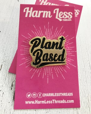 Image of Plant Based enamel pin