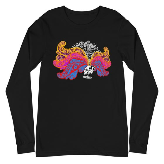 Image of Burden Of Light Bella + Canvas Unisex Long Sleeve Tee Black
