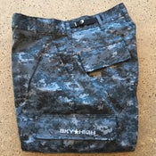 Image of Sky High Tactical Six Pocket Cargo Pants Blue Digi Camo